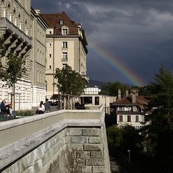 regenboog in Bern