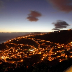 Calheta, Madeira by night