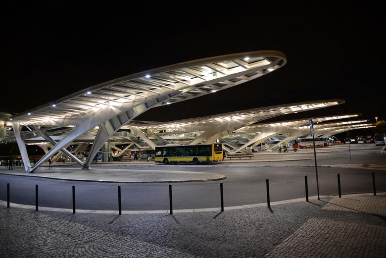 Orient station - Het Orient station in Lissabon, gelegen aan het nationaal park. Het werd gebouwd in 1998 voor de wereldtentoonstelling