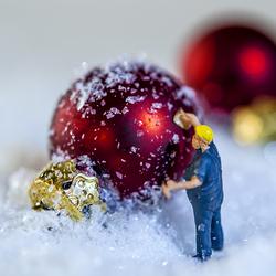 Kerstbal reparatie