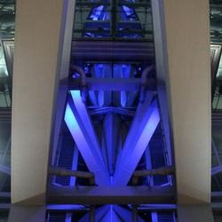 Deel van plafond van de luchthaven Suvarnabhumi Bangkok.