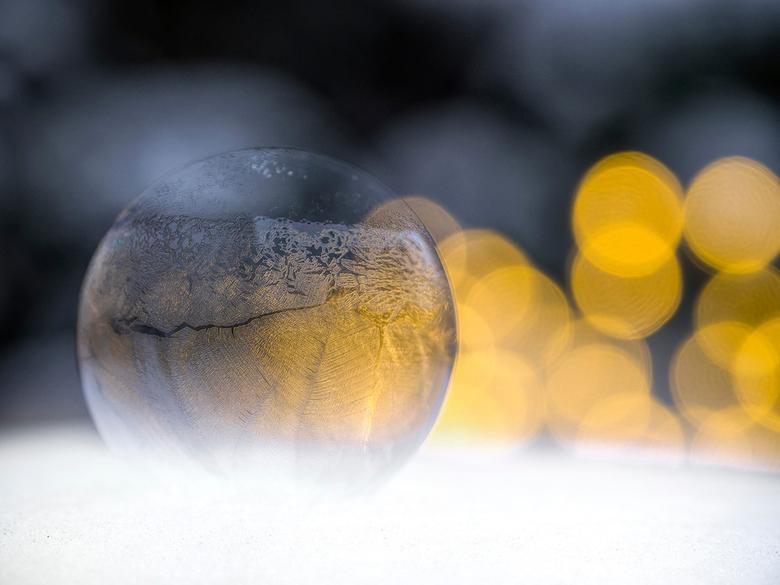 IJsbel - Bevroren zeepbel!