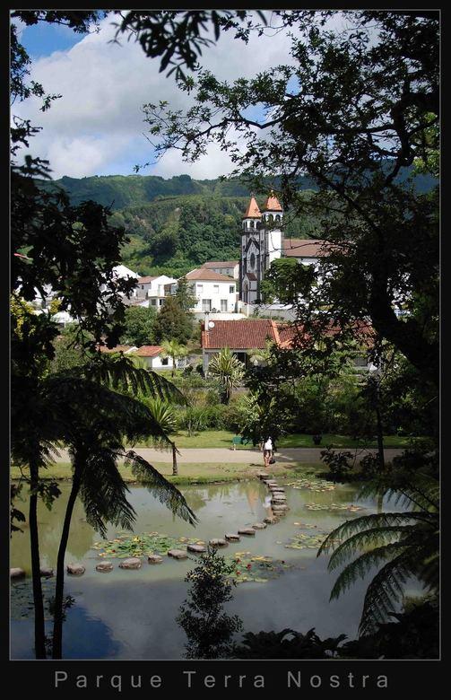 Parque Terra Nostra - Park op het mooie eiland Sao Miguel.