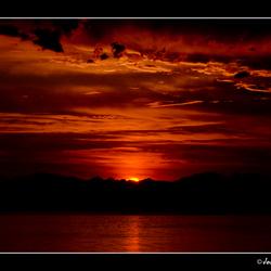 Sunrise above BC