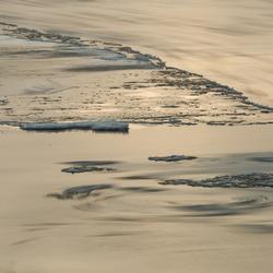 water en ijs