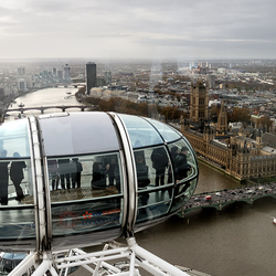 On top of the Eye