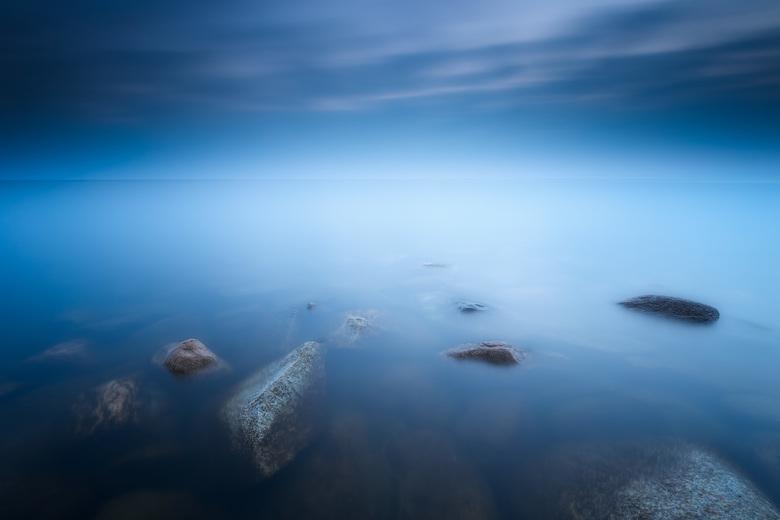 Het ijsselmeer bij Laaksum