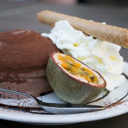 Tartufo dessert