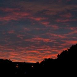 zonsondergang Aberdeen