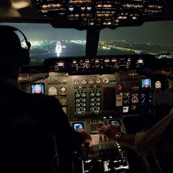 Landing brussel airport