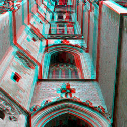 Toren Romboutskathedraal Mechelen 3D