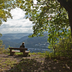 genieten van het uitzicht