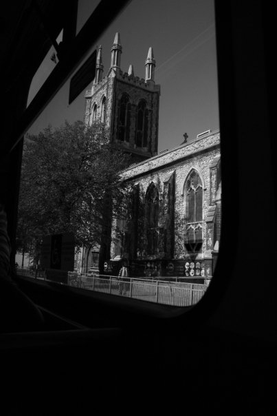 London Greenwich Town - view from the bus