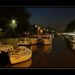 Stadskanaal bij nacht 2