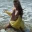 In de zee