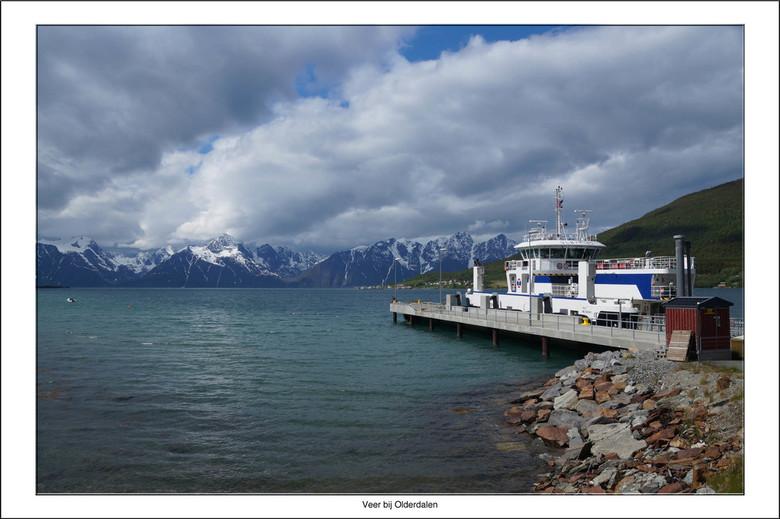 Olderdalen  - Als je over de E6 in Noorwegen naar het zuiden rijdt en je wilt ook nog een bezoek brengen aan Tromso, dan kun je de route inkorten door