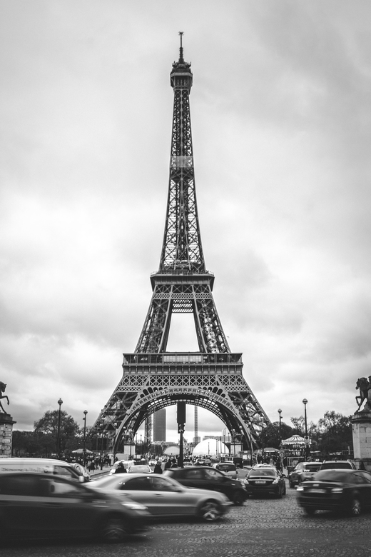 Eiffeltoren - tijdens ons bezoekje aan Parijs, mag een foto van de Eiffeltoren natuurlijk niet ontbreken