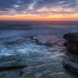 Sunset Monknash