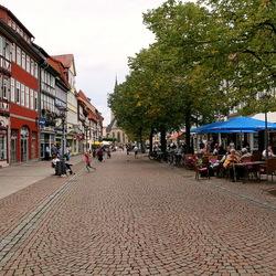 Duderstadt Harz Duitsland.
