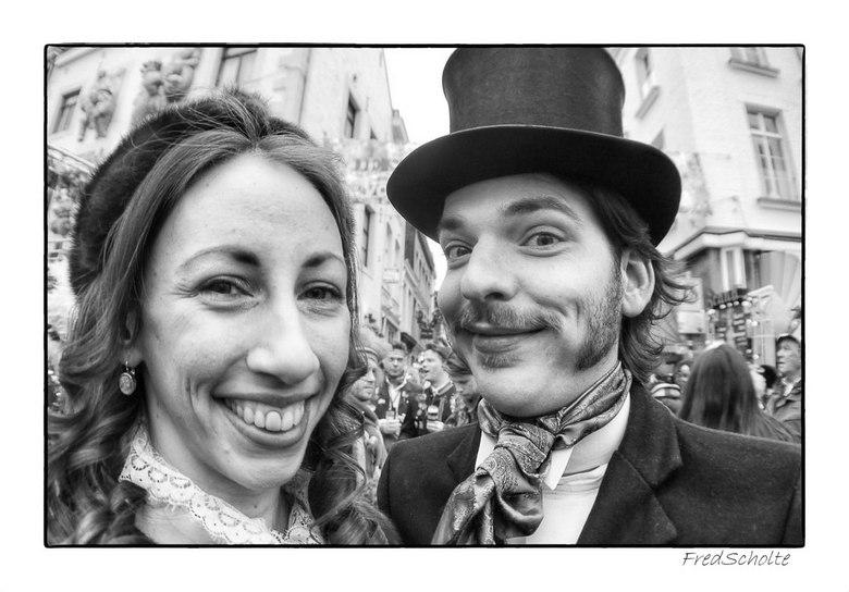 Carnaval Maastricht - Straatportretjes