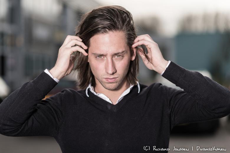 Yannick - Portret tijdens een masterclass van Brendan de Clercq.