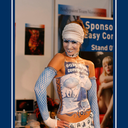 Delfts Blauw Body Painted Model - 1