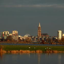 De skyline van Roermond.