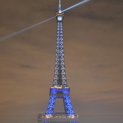 Eiffeltoren met publiek