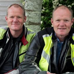 Eeneiige tweeling Maurits en Edwin 2
