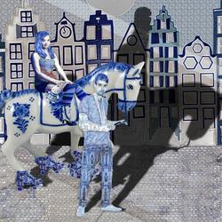 Bewerking: Wittebroodsweken in Delfts blauw