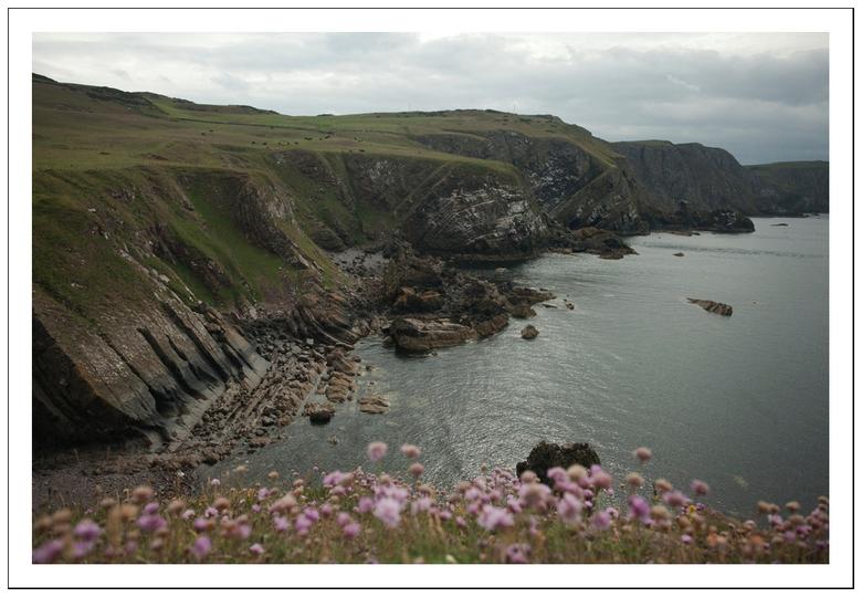 Schotland aan de zee - een opname van afgelopen vakantie in Schotland deze weidse opanme kunnen maken!<br /> jaja een andere opname dan van dieren!!<
