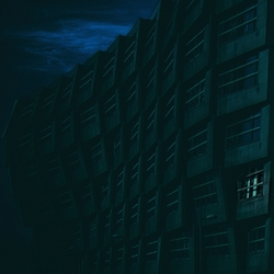 There is one more light on the harmonica building(by miss Jansen)