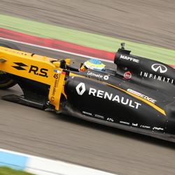 Gamma Racing Day (zaterdag) Oliver Rowland - Renault F1 - RM-Imagestudio