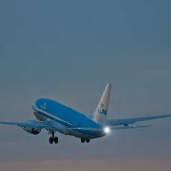 KLM Stijgt op