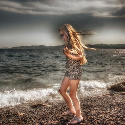 Soof aan het strand