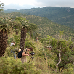 Uitzicht in Thanda, Zuid Afrika