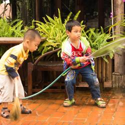 waterplezier in Laos
