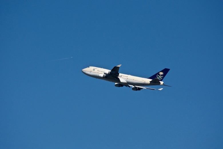 Saudi Arabia Cargo 747 - Blijft altijd één van mijn favorieten, de 747