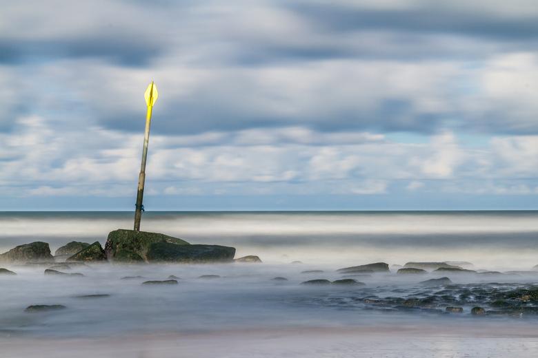 Paaltje - Wederom met de Lee big Stopper in de weer op het strand van Scheveningen
