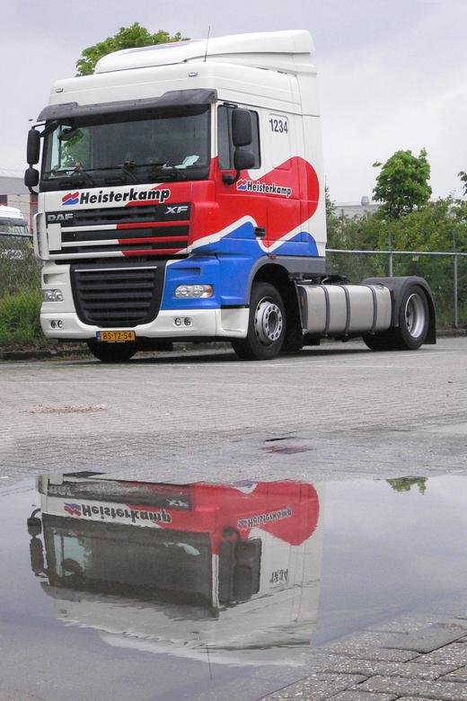 Vrachtwagen met weerpsiegeling -
