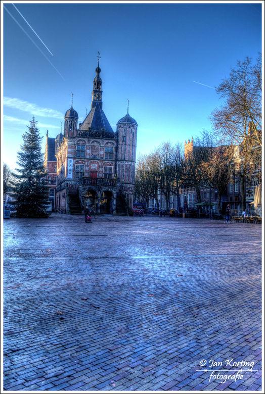 het zonnige Deventer (aangepast) - bijvoorbeeld zo Artmen<br /> <br /> Vrijdags na de kerst een rondje door het zonnige maar verlaten Deventer gelop