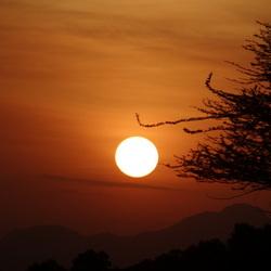 Keniaanse zonsopgang