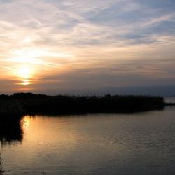 Zonsondergang Grevelingenmeer vandaag