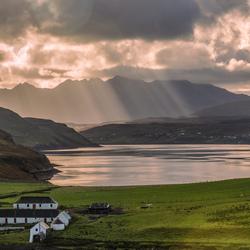 Lake in Schotland