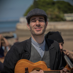 Straatmuzikant Lissabon
