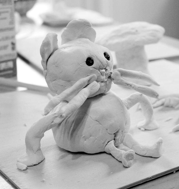 kinderkunst - Kinderen kunnen nog zo oprecht iets maken, zodat het tot kunst kan worden gerekend. Namaken niet mogelijk....