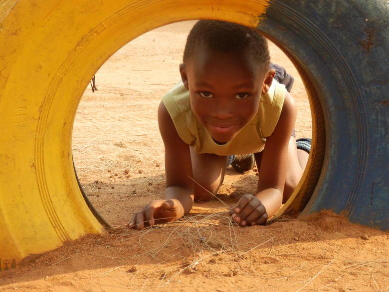 Afrikaans kind - Afrika spelen