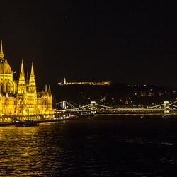 Het parlementsgebouw in Boedapest