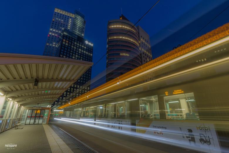 Night trails Rotterdam -