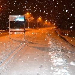 Zware sneeuwval in Valkenswaard.